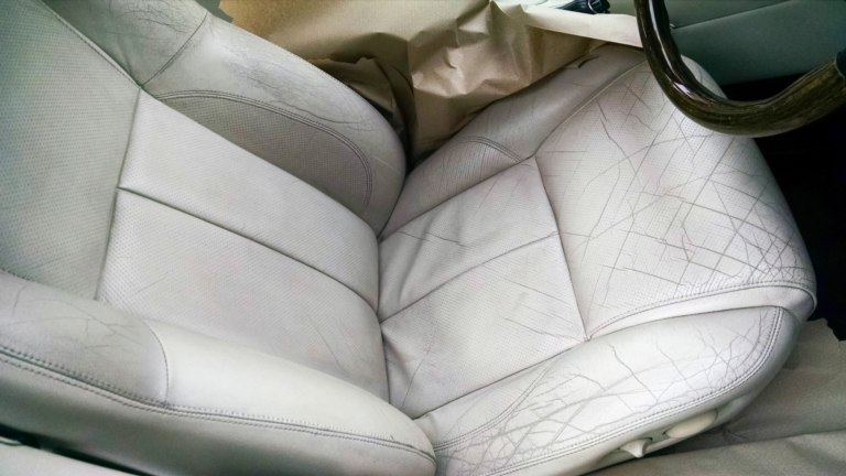 It pays to keep your car's leather interior in shape