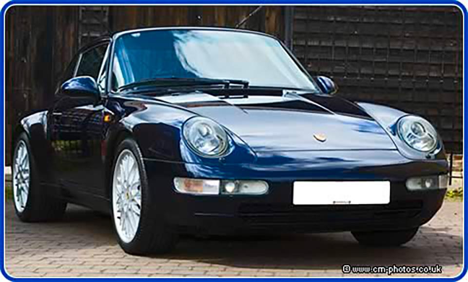 Porsche after Auto Detailing