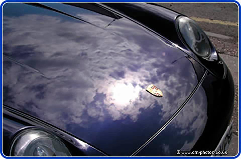 Porsche detailing high polish.