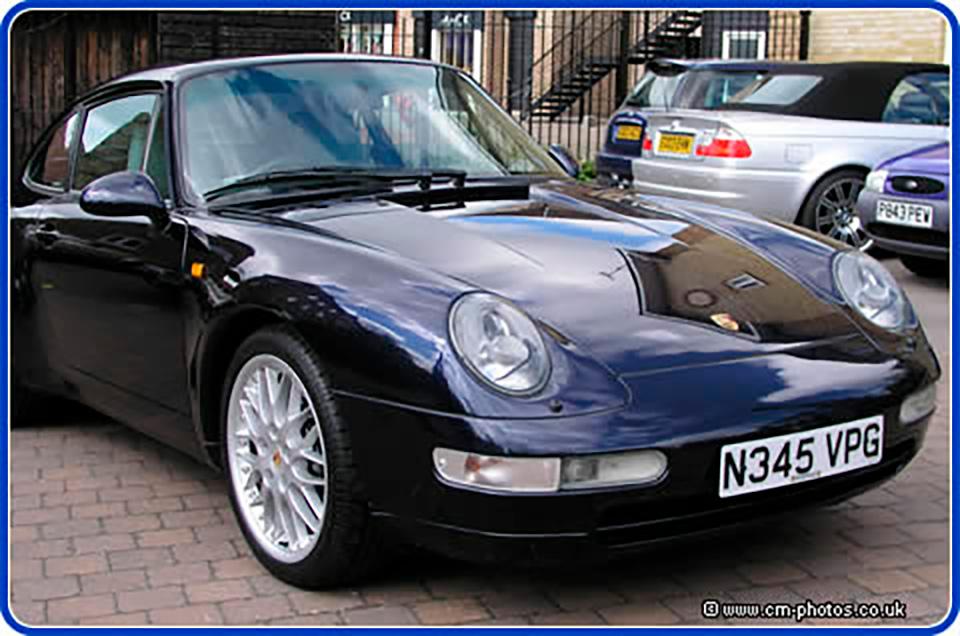 Detailing complete on Porsche.