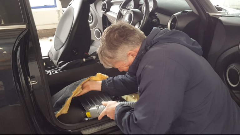 Car Interior Odour Removal