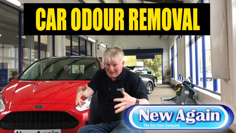 Removing odours from car interior