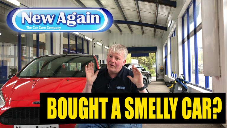 You bought a smelly car?