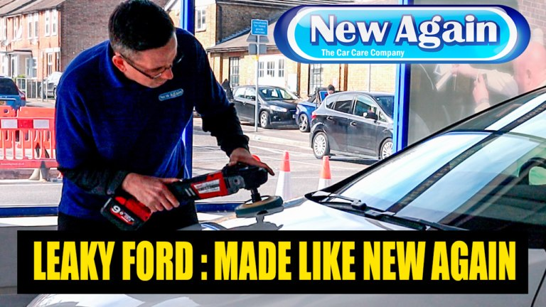 Leaky Ford Focus made like New Again