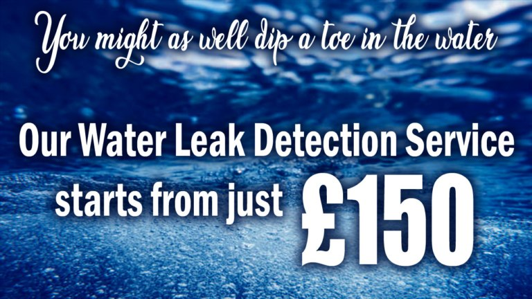 Water Leak Detection Service