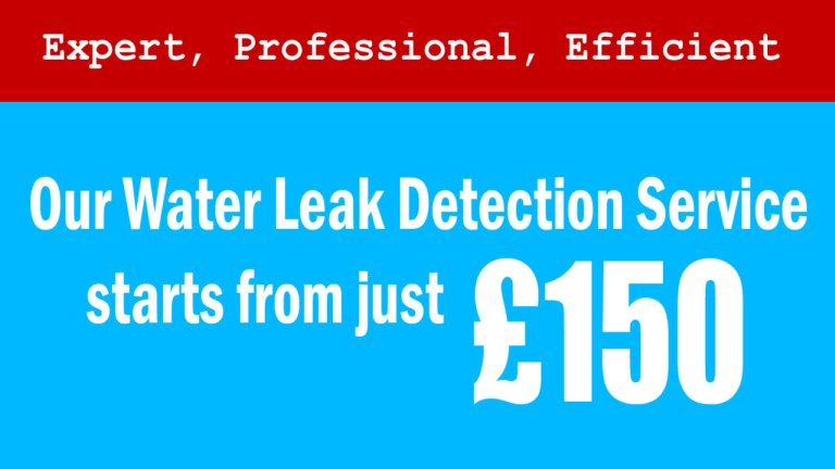 Expert Leak Finding for London and the South East.