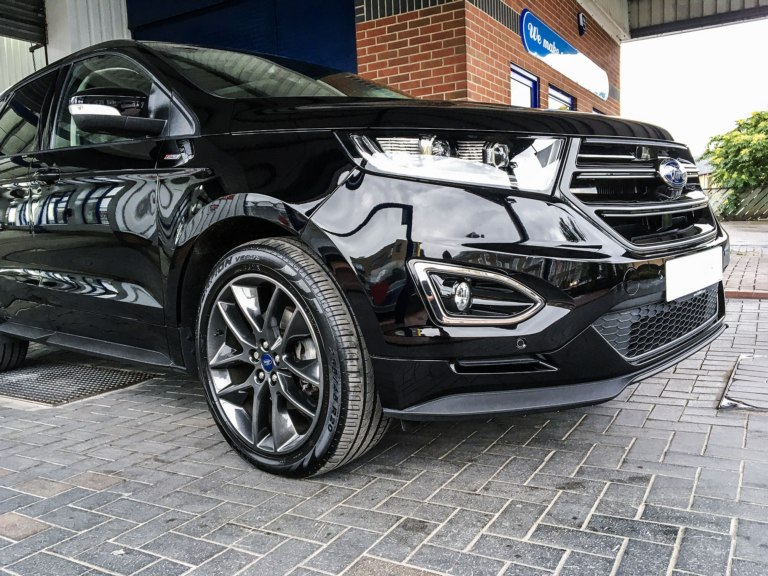 Ford Edge with Fireball Butterfly Ceramic Coating