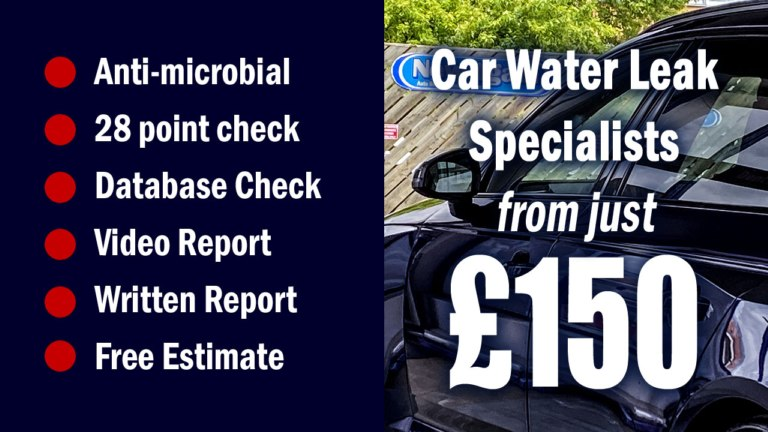 Car Water Leak Specialists