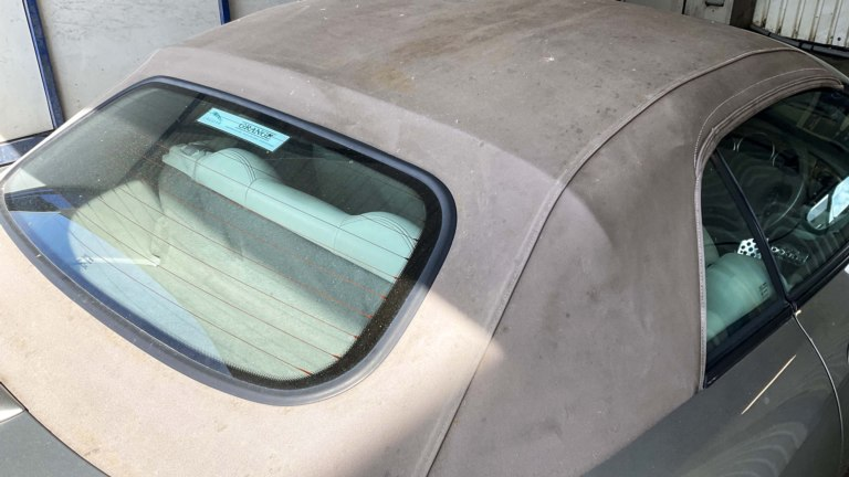 Cabriolet Roof protection Jaguar XKR